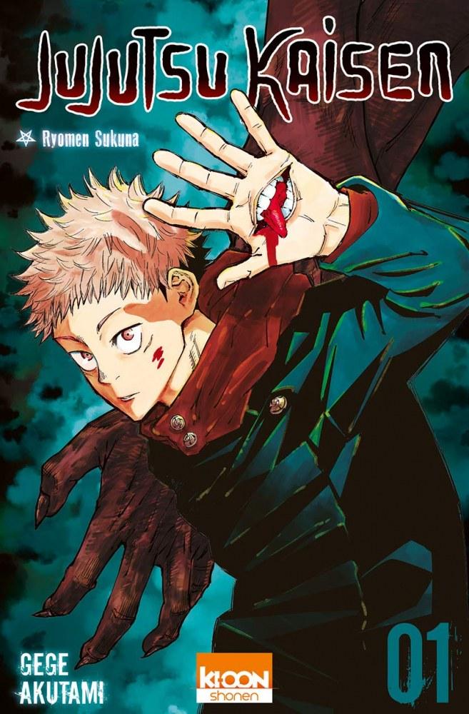 Jujutsu Kaisen - sélection manga 2020