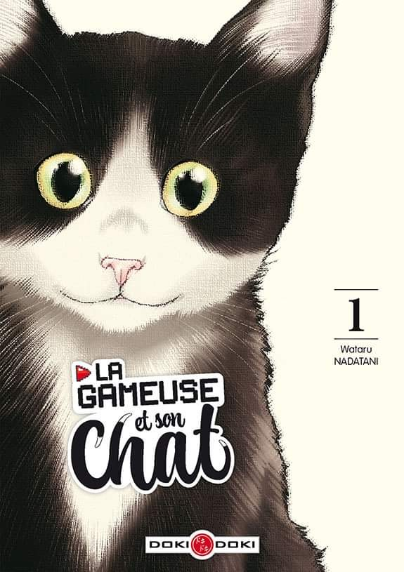 La gameuse et son chat-Doki-Doki