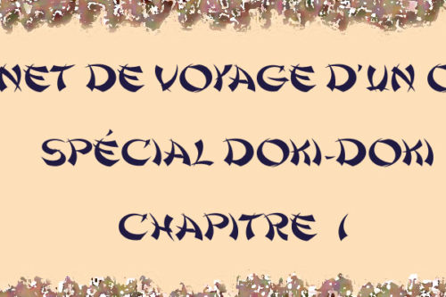 Carnet de voyage otaku Doki-Doki