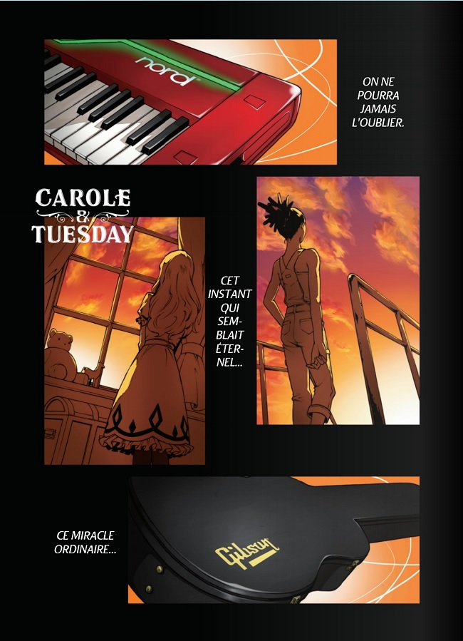 Carole & Tuesday - combat