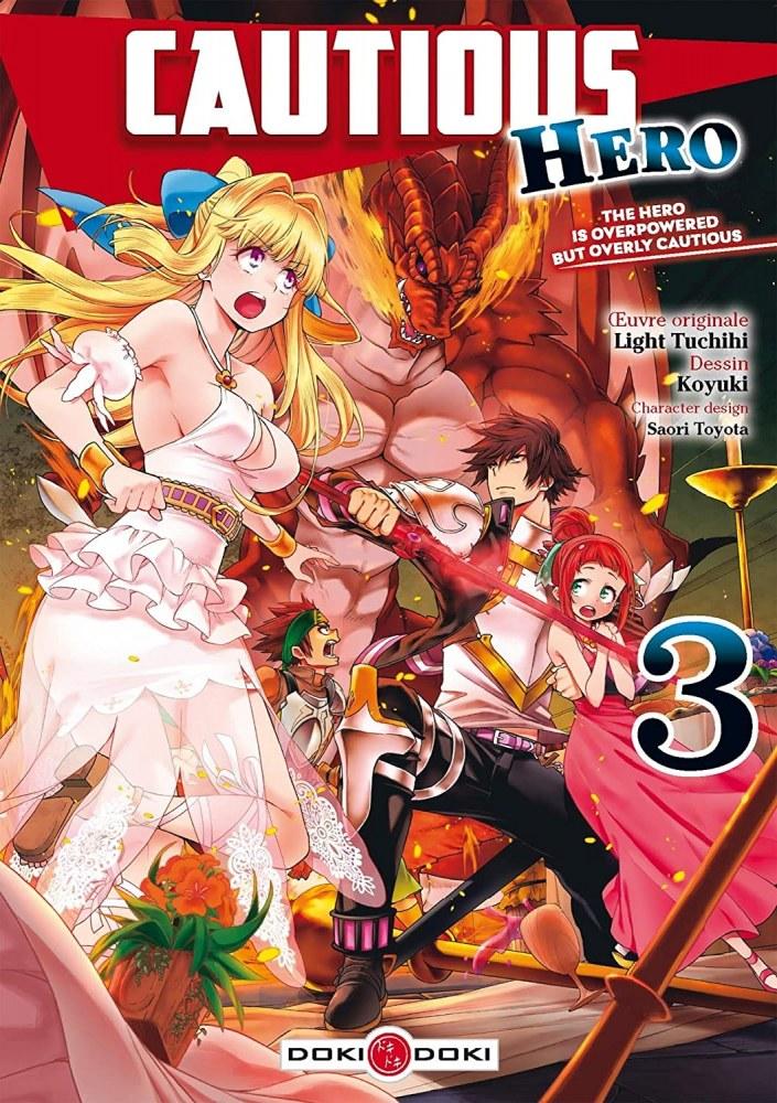 Cautious Hero Vol. 3-Doki-Doki