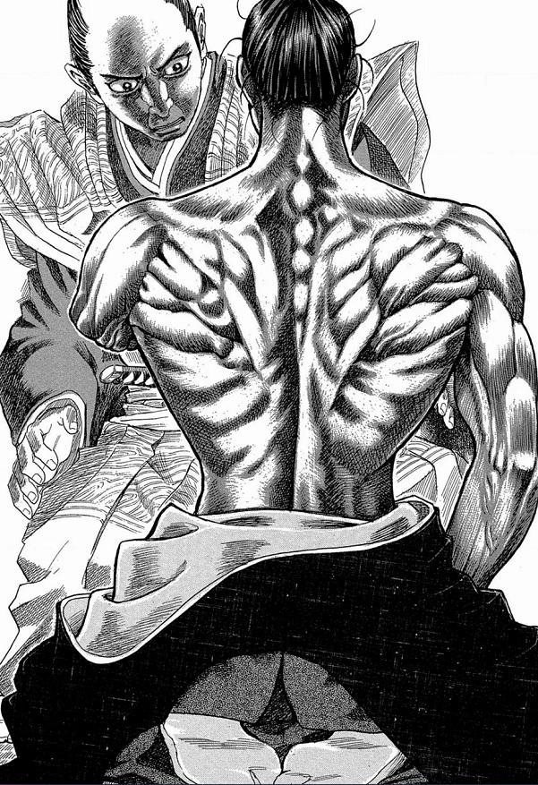 Shigurui - muscles