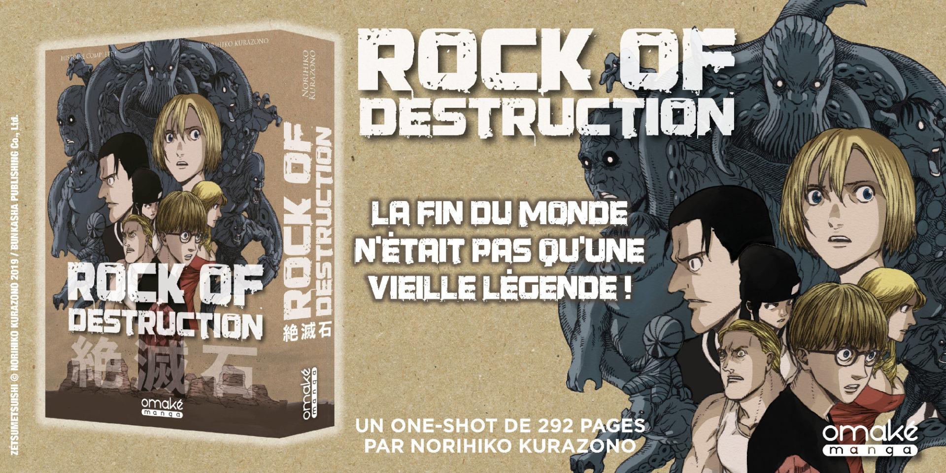 Rock of Destruction - news