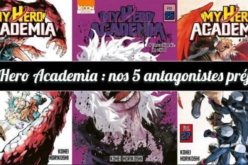 My Hero Academia - antagoniste