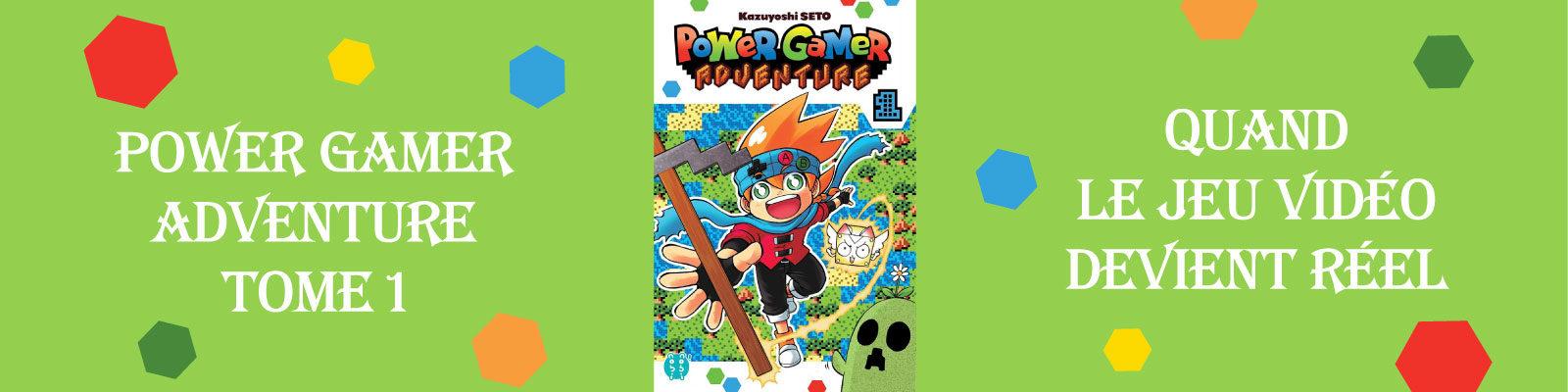 Power Gamer Adventure-Vol.-1