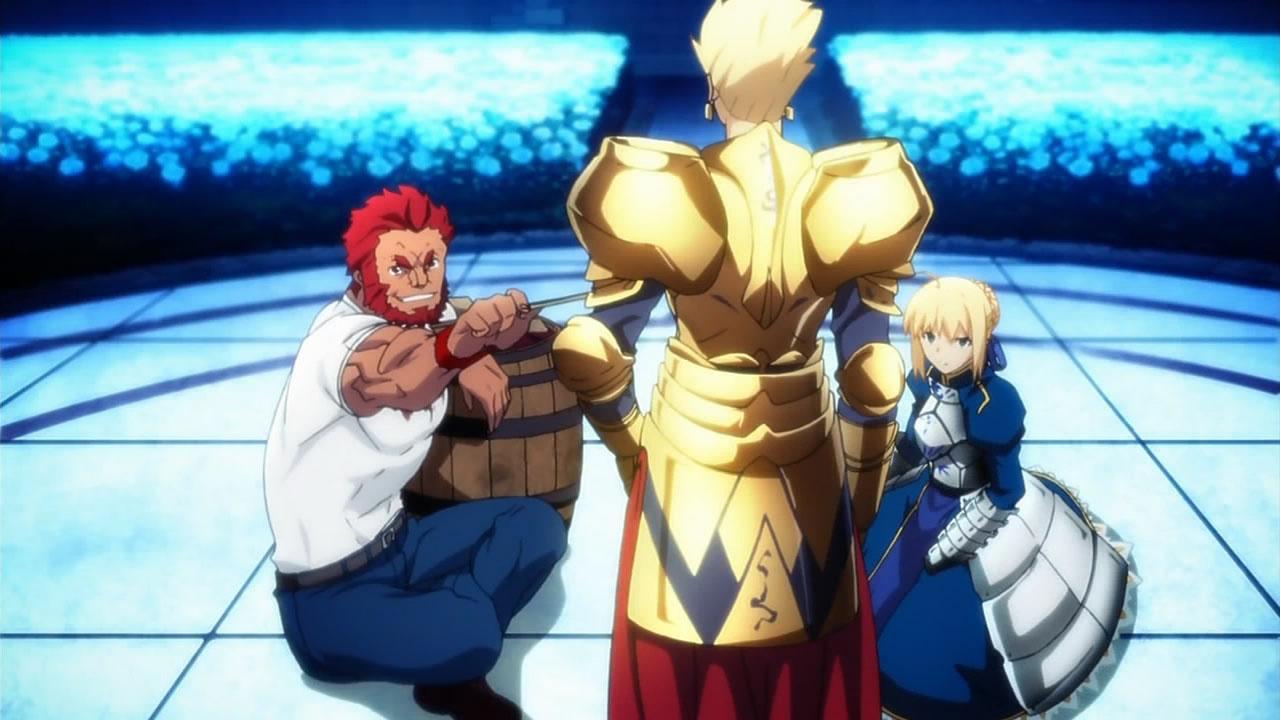 Fate Zero banquet