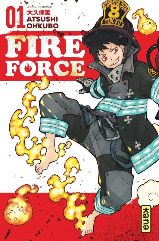 Fire Force Ohkubo
