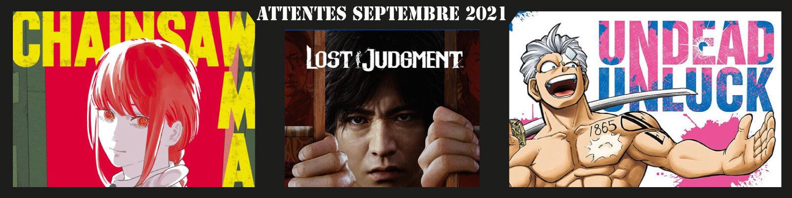 Attentes septembre 2021