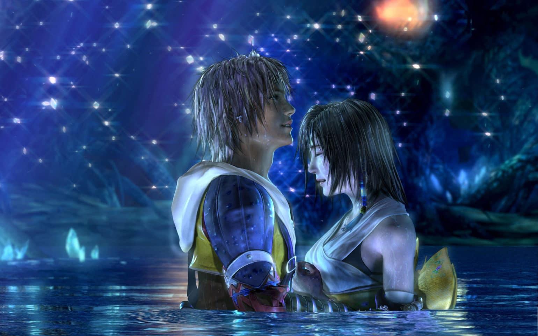 Tidus et Yuna - amour