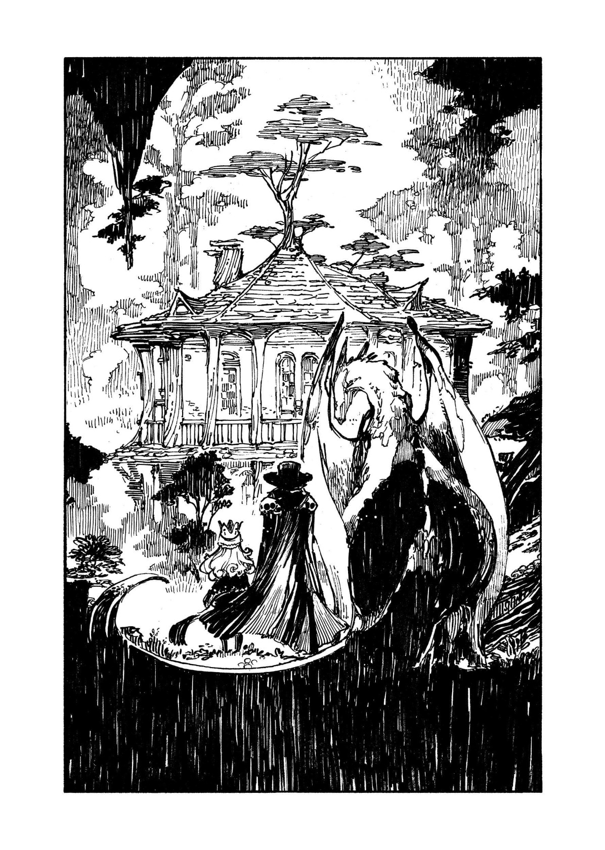 La petite princesse et la forêt enchantée - dragon
