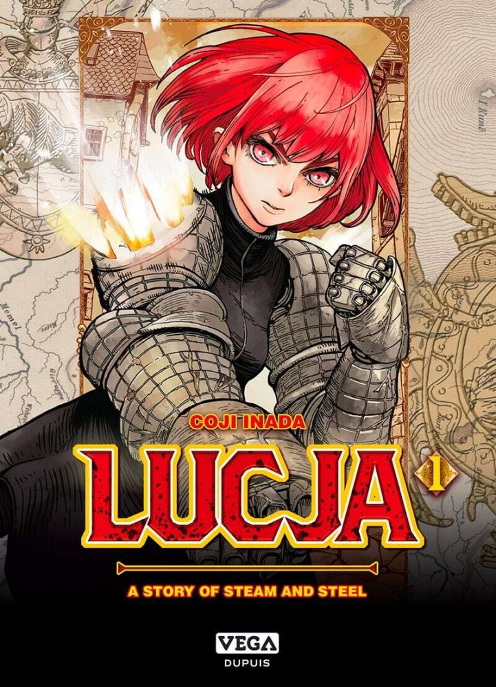Lucja, a story of steam and steel Vol. 1
