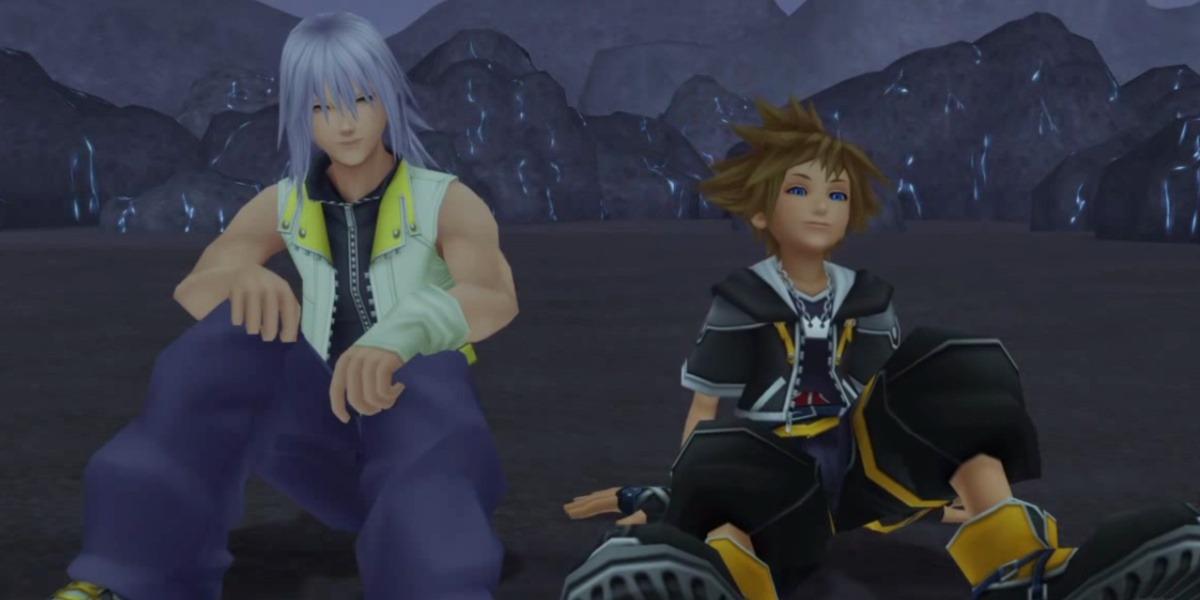 Sora et Riku - amitié