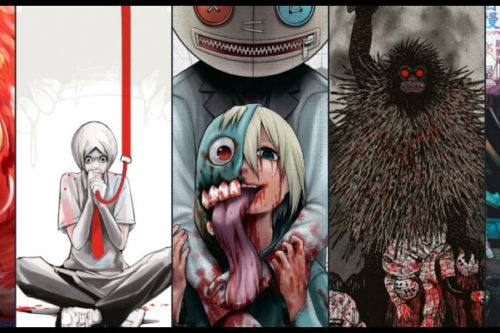 Manga Horror Show-Monstres