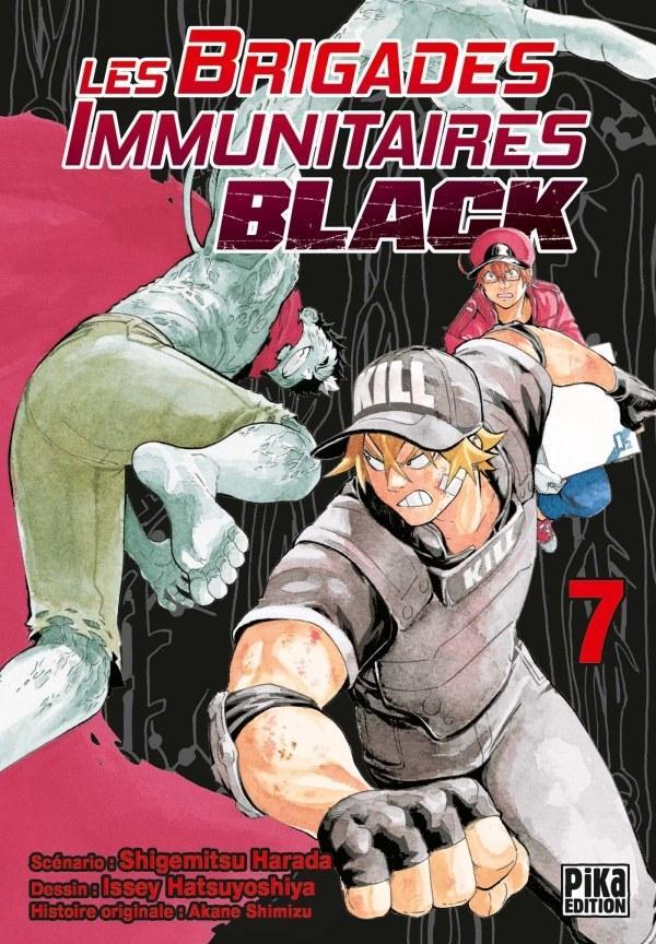 Les Brigades Immunitaires - BLACK T7 [15/09/2021]