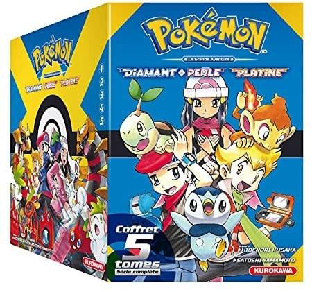 Pokémon - Diamant et Perle T1 à 5 [14/10/2021]